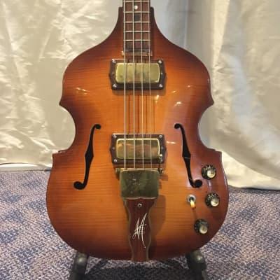 Maton Baroque Bass Sunburst for sale