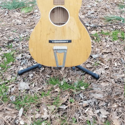 Champ Jackson-Guldan Chris Adjustomatic 1950's/1960's Parlor Guitar for sale