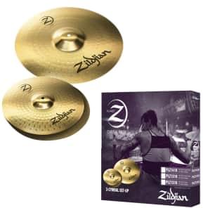 "Zildjian PLZ1418 Planet Z 14/18"" 2-Piece Cymbal Pack Box Set"