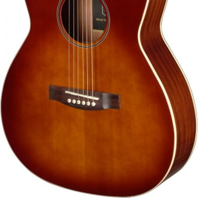 James Neligan BES-A DCB LH Bessie Series Acoustic Auditorium, Solid Spruce Top, Dark Cherry Burst