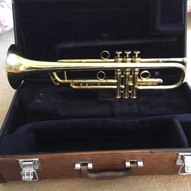 Conn Vintage One 1B-46 Bb Trumpet Gold Plated
