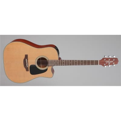 Takamine P1DC Pro Dreadnought Electro Acoustic, Natural for sale