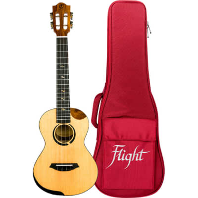 Flight Princess Series Victoria Soundwave Concert Electro-Acoustic Ukulele with Built-In Effects for sale
