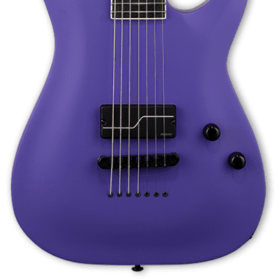 ESP LTD SC-607 Baritone 1 Hum Stephen Carpenter Deftones Purple Electric Guitar B-Stock for sale