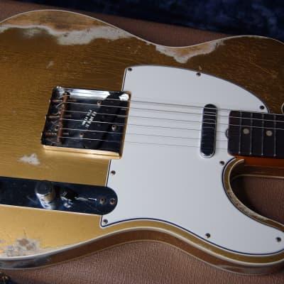 NEW! Fender Custom Shop '60 Reissue Telecaster Relic Modern Specs Handwound P/U's Authorized Dealer for sale
