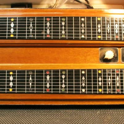 Epiphone Electar Duo Console Lap Steel 1940's Natural for sale