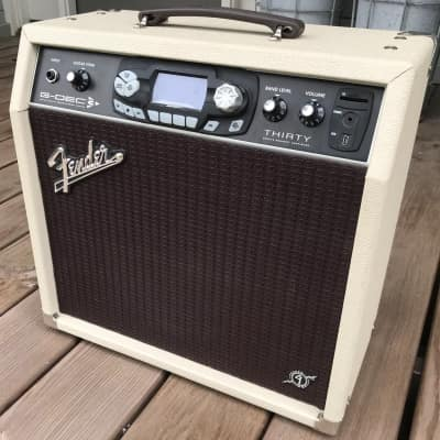"Fender G-DEC 3 Thirty ""Blues"" Guitar Digital Entertainment Center 30-Watt 1x10"" Guitar Practice Amp 2011"