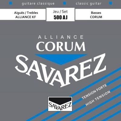 Savarez Alliance Corum High Tension Strings