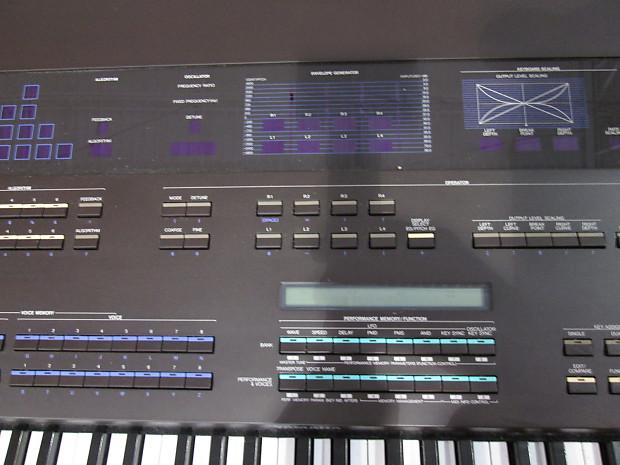 Yamaha Dx Digital Programmable Algorithm Synthesizer