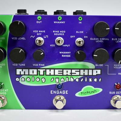 Pigtronix Mothership Analog Guitar Synthesizer Effects Unit w/Box