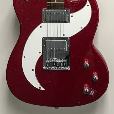 Daisy Rock Tom Boy Deuce Electric Gutair Red Sparkle for sale