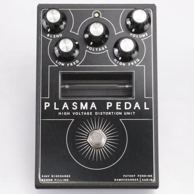 Gamechanger Audio Plasma Pedal High Voltage Distortion Pedal Stomp Box #43636