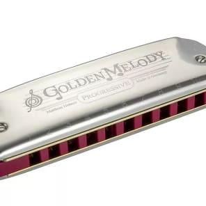 Hohner 542BL-FS Progressive Series Golden Melody Harmonica - Key of F#