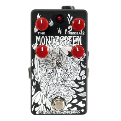 Old Blood Noise Endeavors Mondegreen Delay, Black/White (Gear Hero Exclusive)
