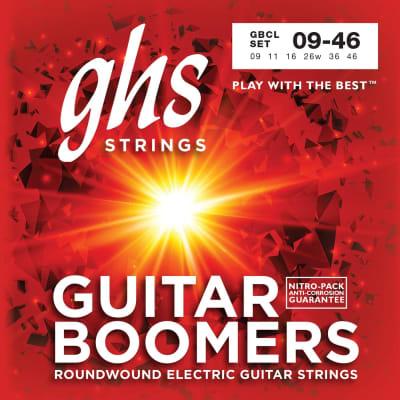 GHS Boomers GBCL Nickel Plated Electric Guitar Strings 9-46