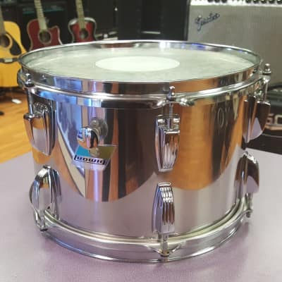 "Ludwig 8x12"" Stainless Steel Mounted Tom"