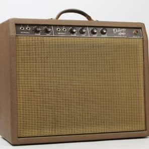 """Fender Deluxe 6G3 Brownface 20-Watt 1x12"""" Guitar Combo 1961 - 1963"""