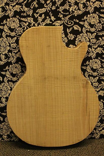 usa electric guitar body blank slab solid maple rough cut lp reverb. Black Bedroom Furniture Sets. Home Design Ideas