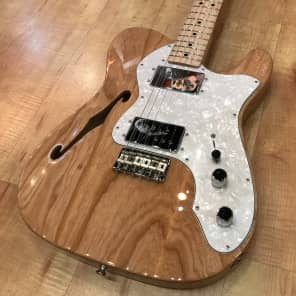 Fender Classic Series '72 Telecaster Thinline Electric Guitar 2017 Natural for sale