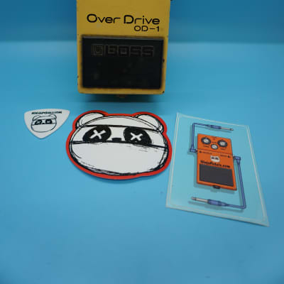 Boss OD-1 Overdrive | Rare 1980 (Long Dash/Silver Screw/Black Label) Made in Japan | Fast Shipping!