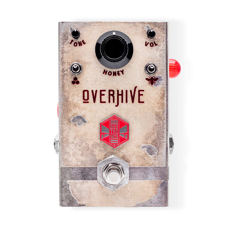 Beetronics Overhive Medium Gain Overdrive Effects Pedal