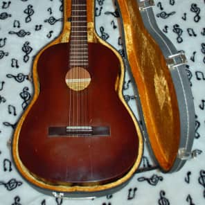 Favilla C-5 Overture Mahogany Classical Guitar for sale