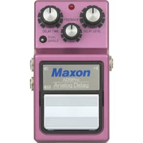 Maxon 9-Series AD-9 Pro Analog Delay Pedal Regular for sale