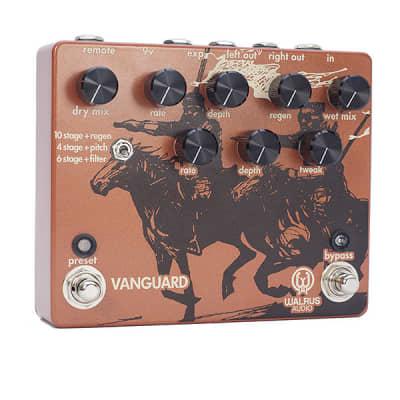 Walrus Audio Vanguard Dual Phase Guitar Effect Pedal for sale