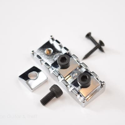 43mm Chrome Locking Nut Kit Floyd Rose Licensed