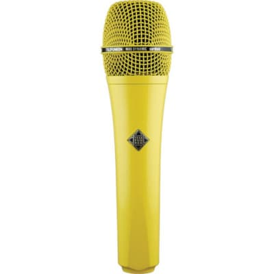 Telefunken M80 Custom Handheld Supercardioid Dynamic Microphone (Yellow Body, Yellow Grille)