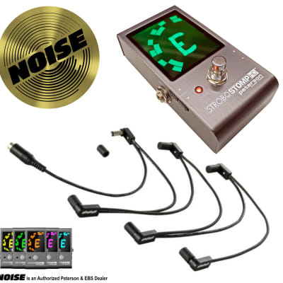 PETERSON Strobostomp HD + EBS Daisy Chain Flat Power Cables DC-2/90FOne-to-Six 2021-UP