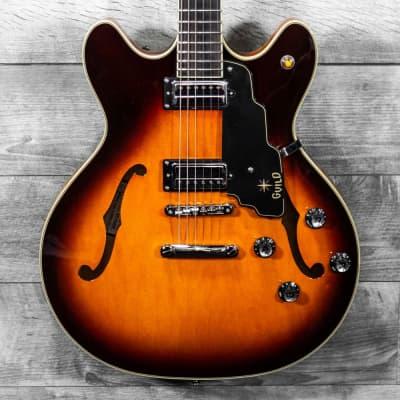 Guild Starfire IV Semi-Hollow Guitar Sunburst w/OHSC USED