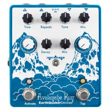 EarthQuaker Devices Avalanche Run V2 Stereo Delay & Reverb