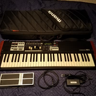 Hammond XK-1C 61-Key Portable Organ with Drawbars, MONO Gigbag Included!