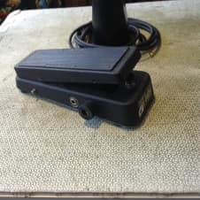 Dunlop Mister cry baby super volume wah pedal Black