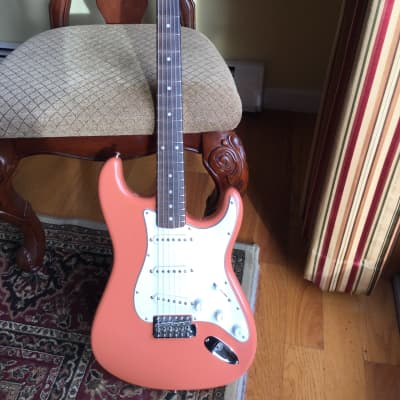Fender  Custom Shop Noneck NOS '60 Stratocaster Pink for sale
