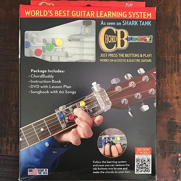 Old Fashioned Shark Tank Guitar Chord Buddy Model Basic Guitar