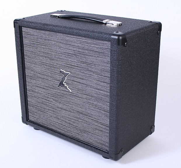 Dr Z 1x10 Speaker Cabinet New Black Tolex Z Wreck Cloth | Reverb