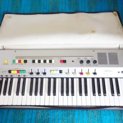 Brother GX-151 Auto Emillion 70s Vintage Analog Synthesizer / Drum Machine - D420