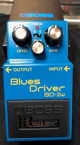 boss bd 2w blues driver waza craft guitar effects pedal reverb. Black Bedroom Furniture Sets. Home Design Ideas