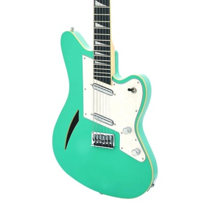 Eastwood MRG Series Surfcaster 12 Bound Tone Chambered Body Bolt-on Maple 12-String Electric Guitar