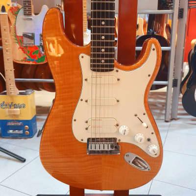 Fender Stratocaster Custom Shop ULTRA Set-Neck Natural FLAME Top for sale