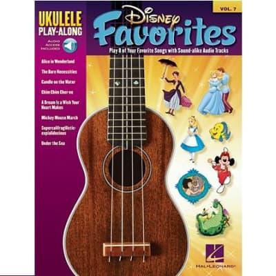 Disney Favorites - Ukulele Play-Along Volume 7 (w/ Online Audio Access)