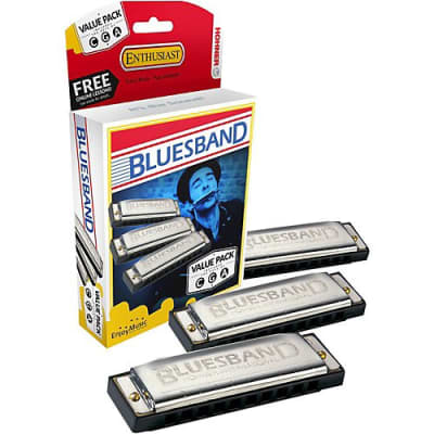 Hohner BluesBand Harmonica Value Pack