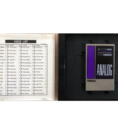 Yamaha SY/TG55 VOICE DATA CARD  1990 black