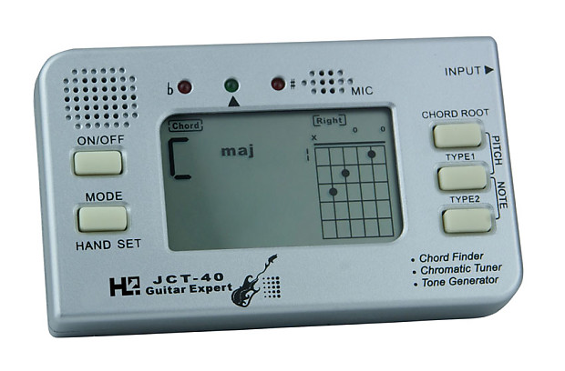 Aster JCT-40 guitar tuner and chord trainer | Wakertone Inc | Reverb