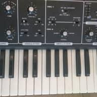 Moog 342a Rogue  80s Black Analog Synthesizer Vintage