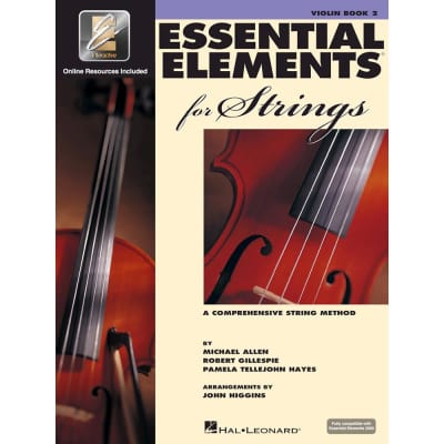 Hal Leonard Essential Elements for Strings - Book 2 with EEi: Violin