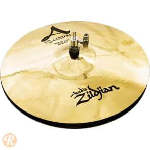 """Zildjian 14"""" A Custom Hi-Hat Cymbal (Top)"""
