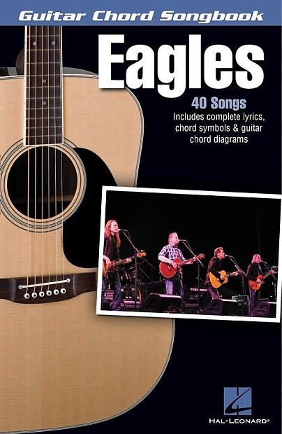 EAGLES GUITAR CHORD SONGBOOK SHEET MUSIC BOOK | Reverb